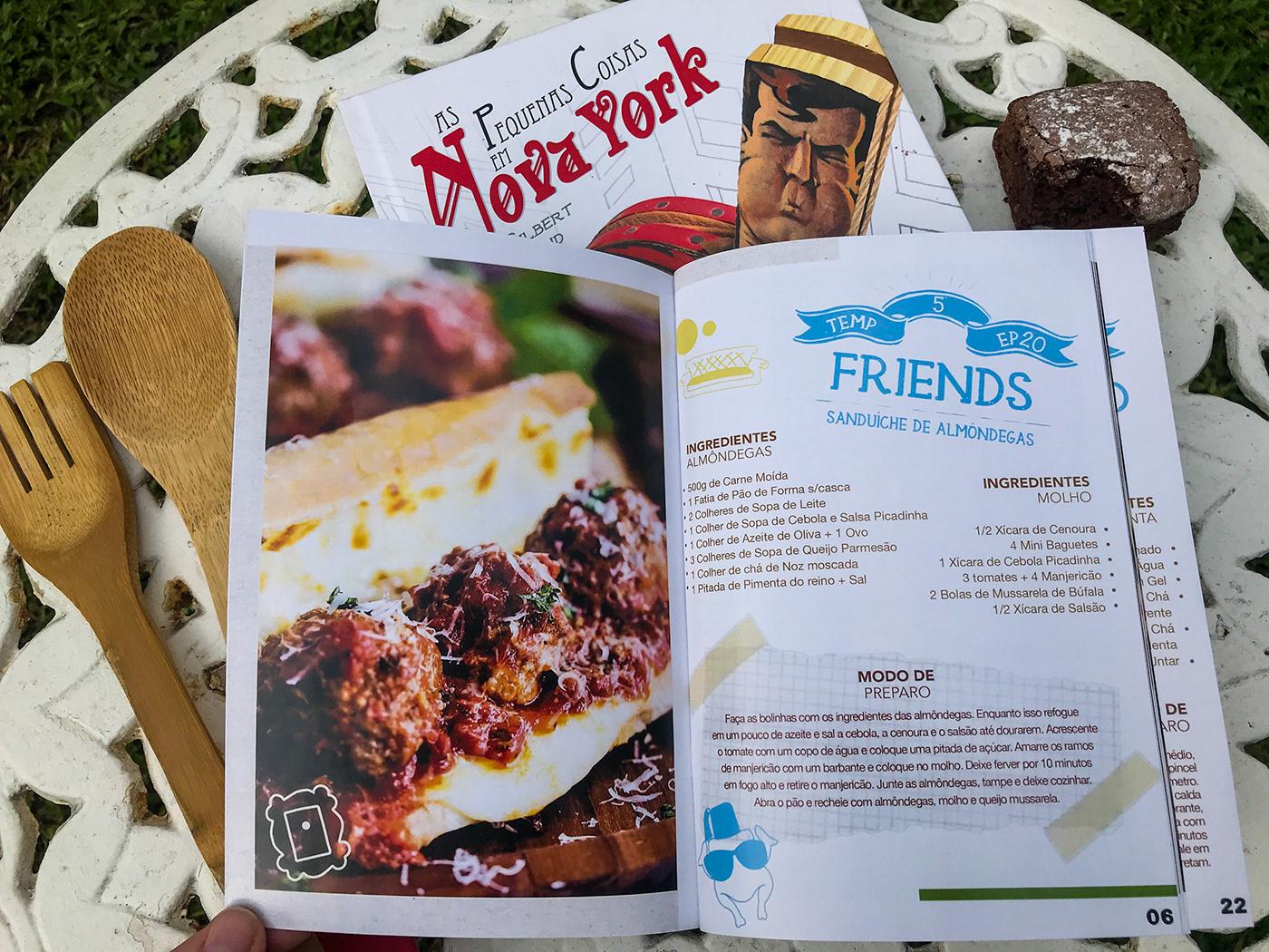 series got HIMYM friends The Handmaid's Tale recipe book Food  Series Recipe Book