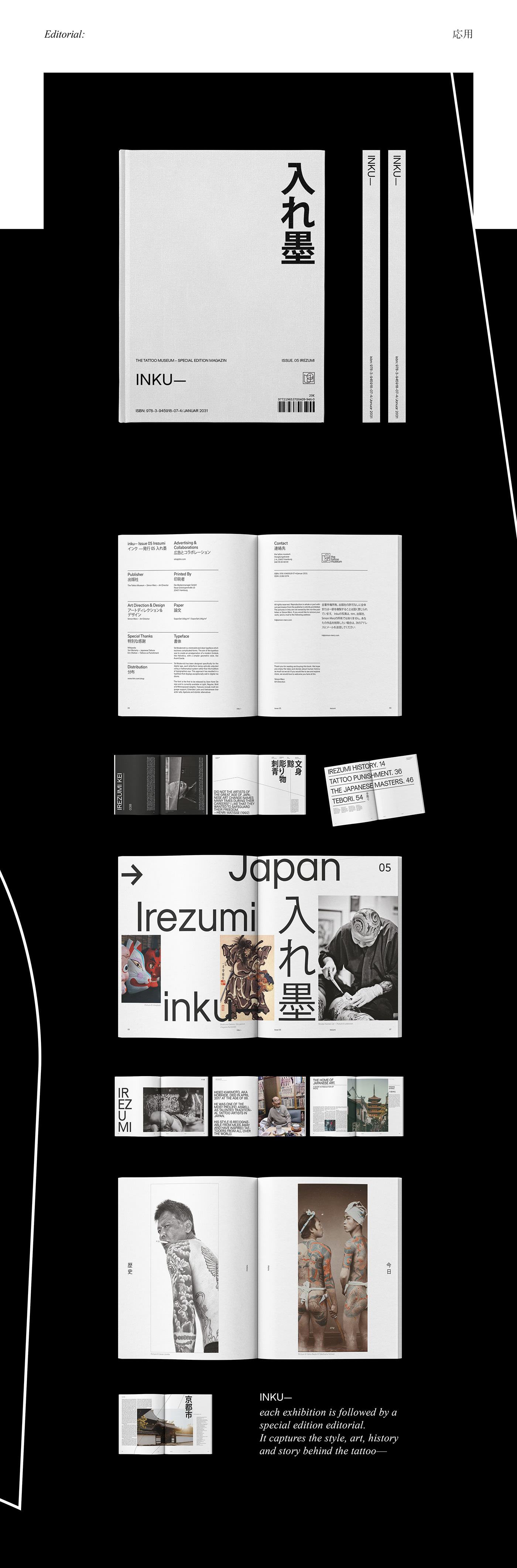art bachelor corporate design editorial Exhibition  identity museum tattoo type
