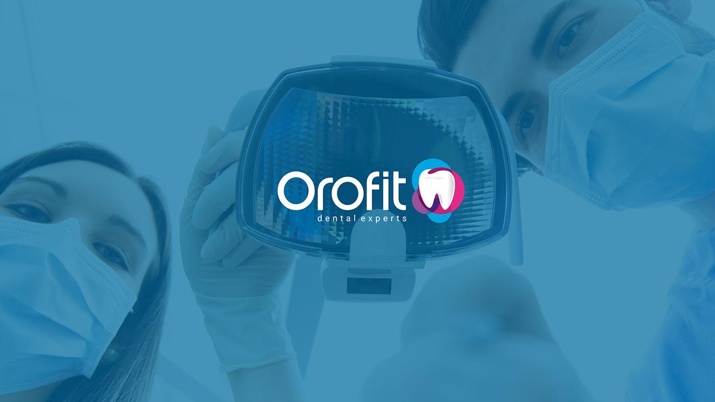 Dental Branding Project Startup Farms orofit dentist dental tooth healthcare dental care
