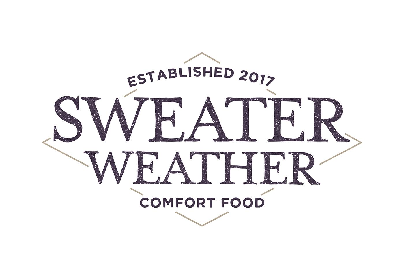 Restaurant Branding Logo Sweater Weather On Behance