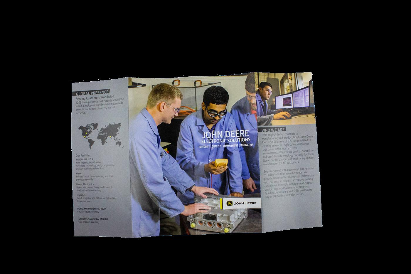Jdes Brochure On Behance Electronicsprojectsinpunejpg Thank You