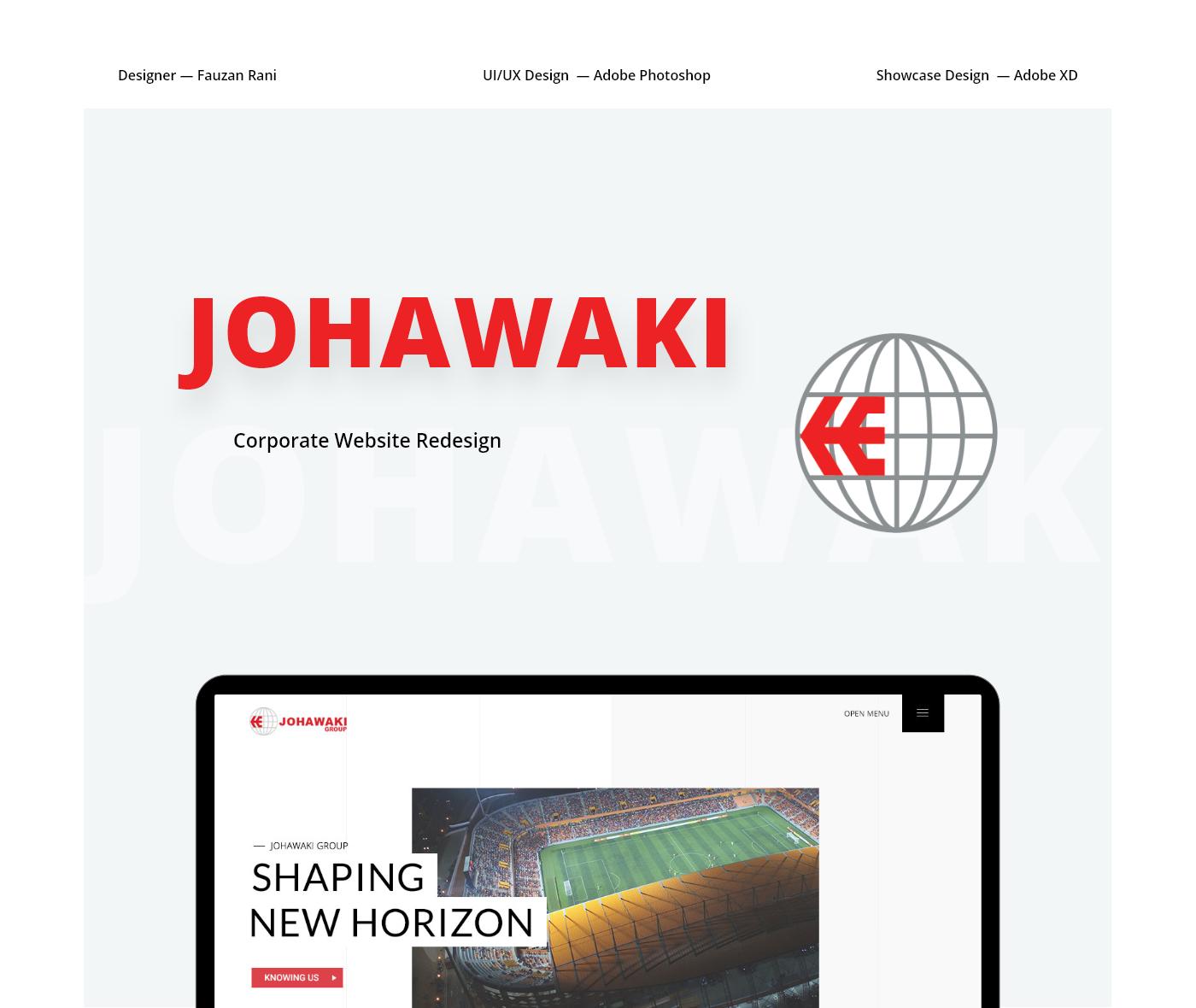 corporate Website redesign wordpress minimal clean business full screen javascript effects