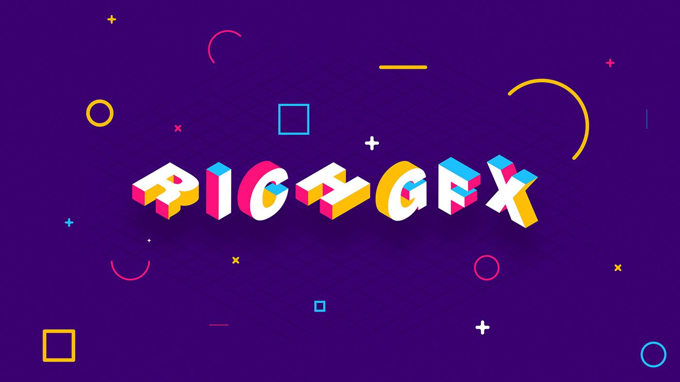 極美的39個AI文字設計欣賞