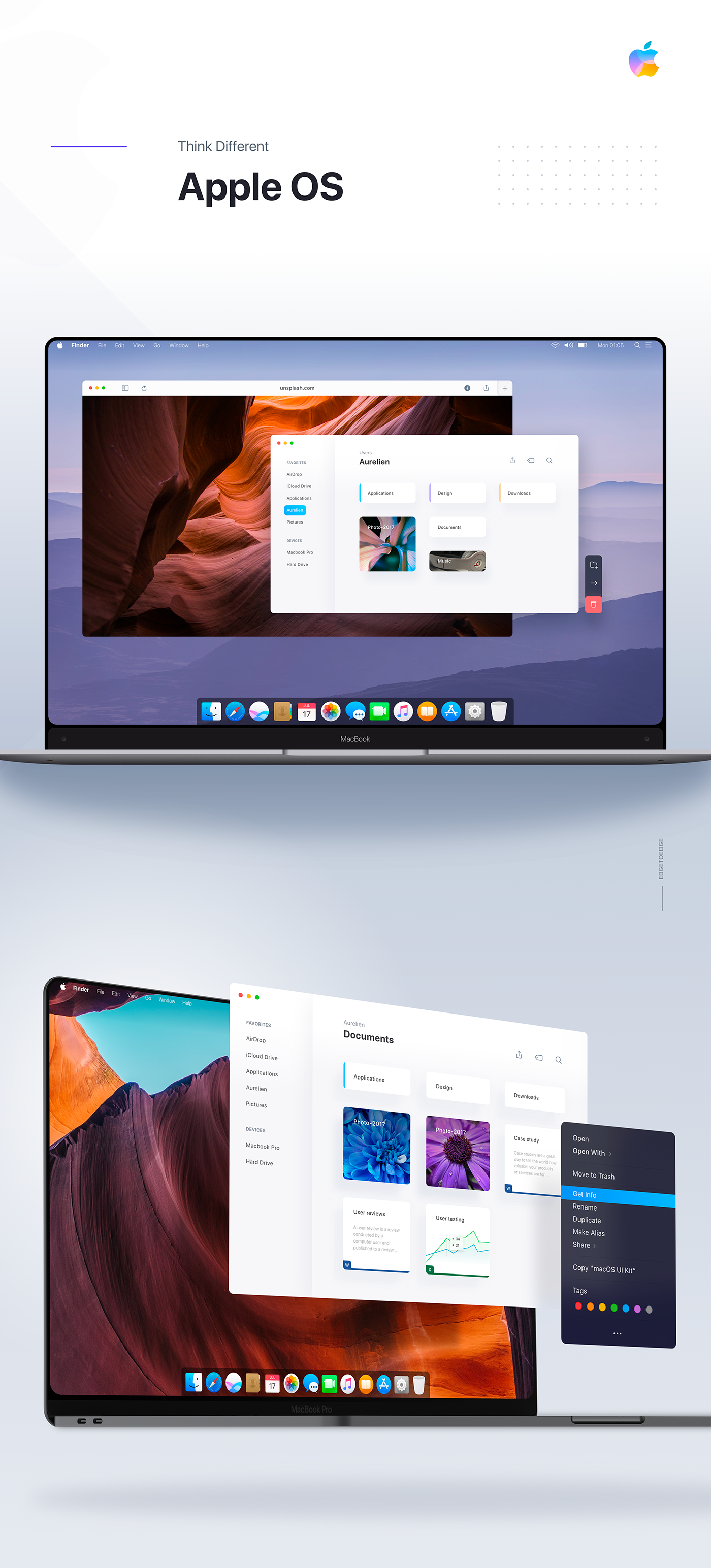 Best Mac Apps 2020 Apple OS / Mac OS 2020 redesign   Edge to edge Macbook on Behance