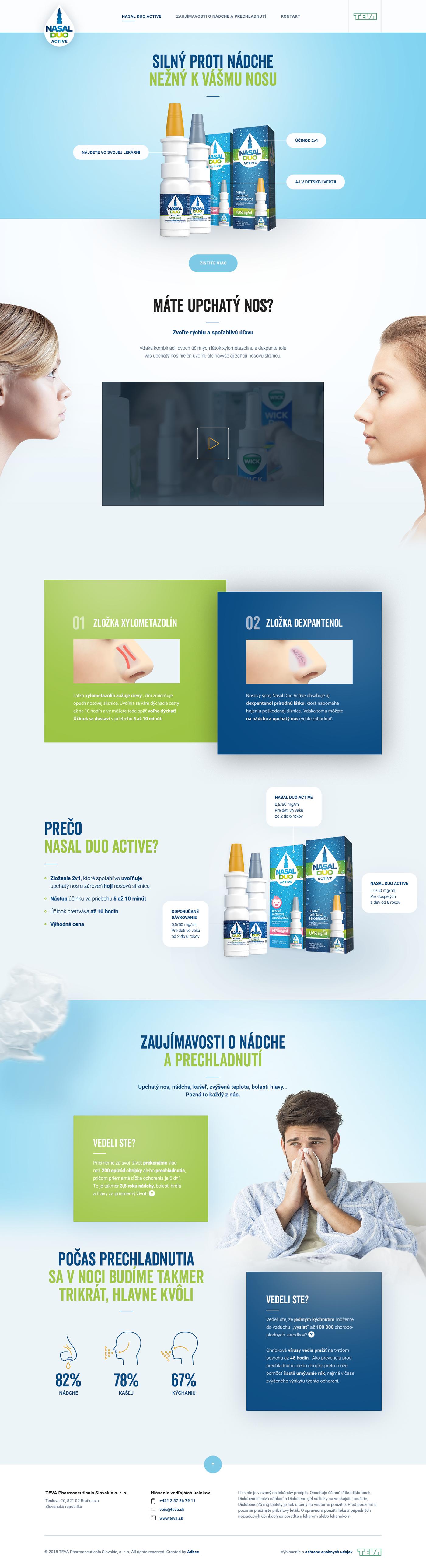 Web One Page Responsive design webpage Webdesign