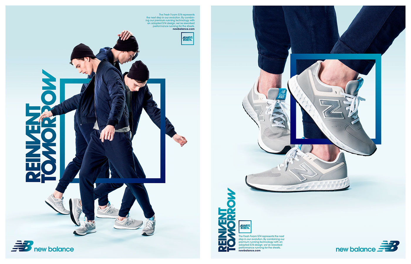 c9f86524 New Balance Omni Launch Campaign on Behance