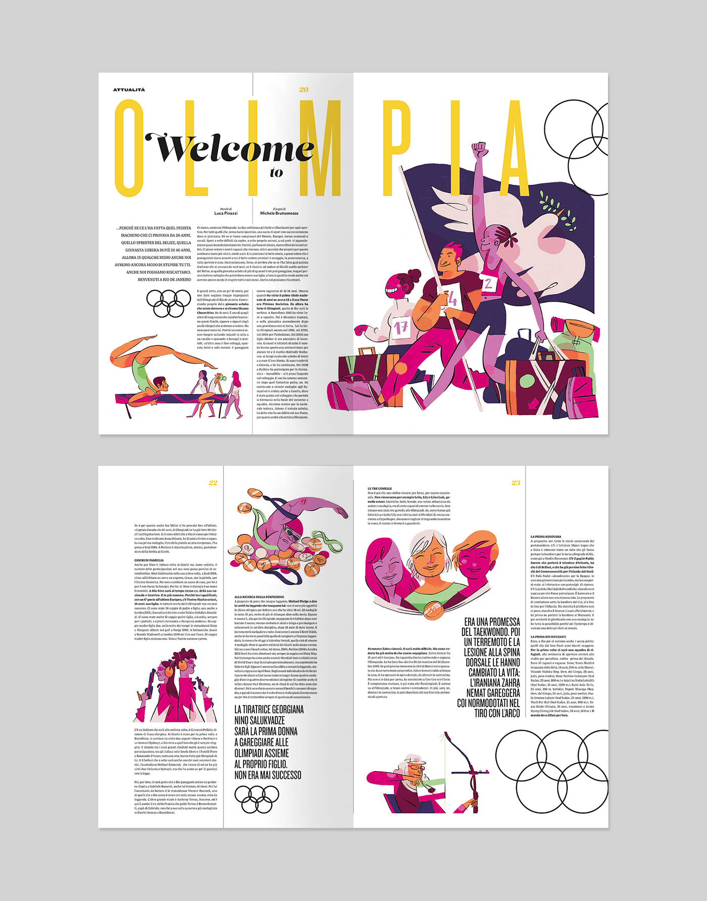 Rio Olympic Games For Soccer Illustrated On Behance