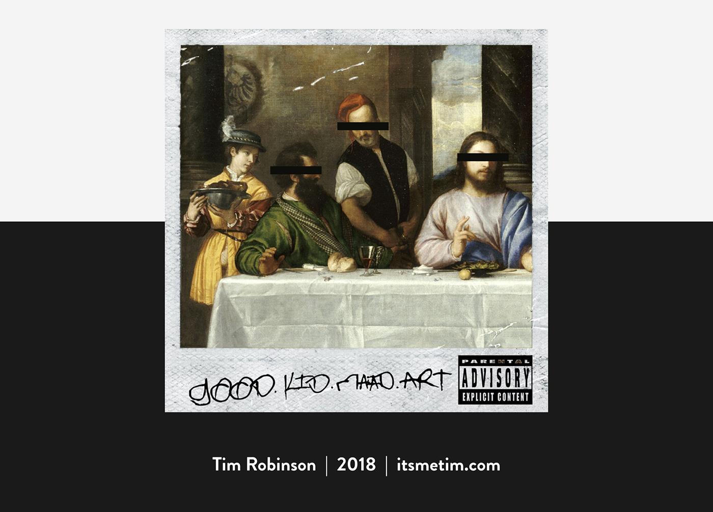 hip hop kendrick lamar good kid mad city Mad Art