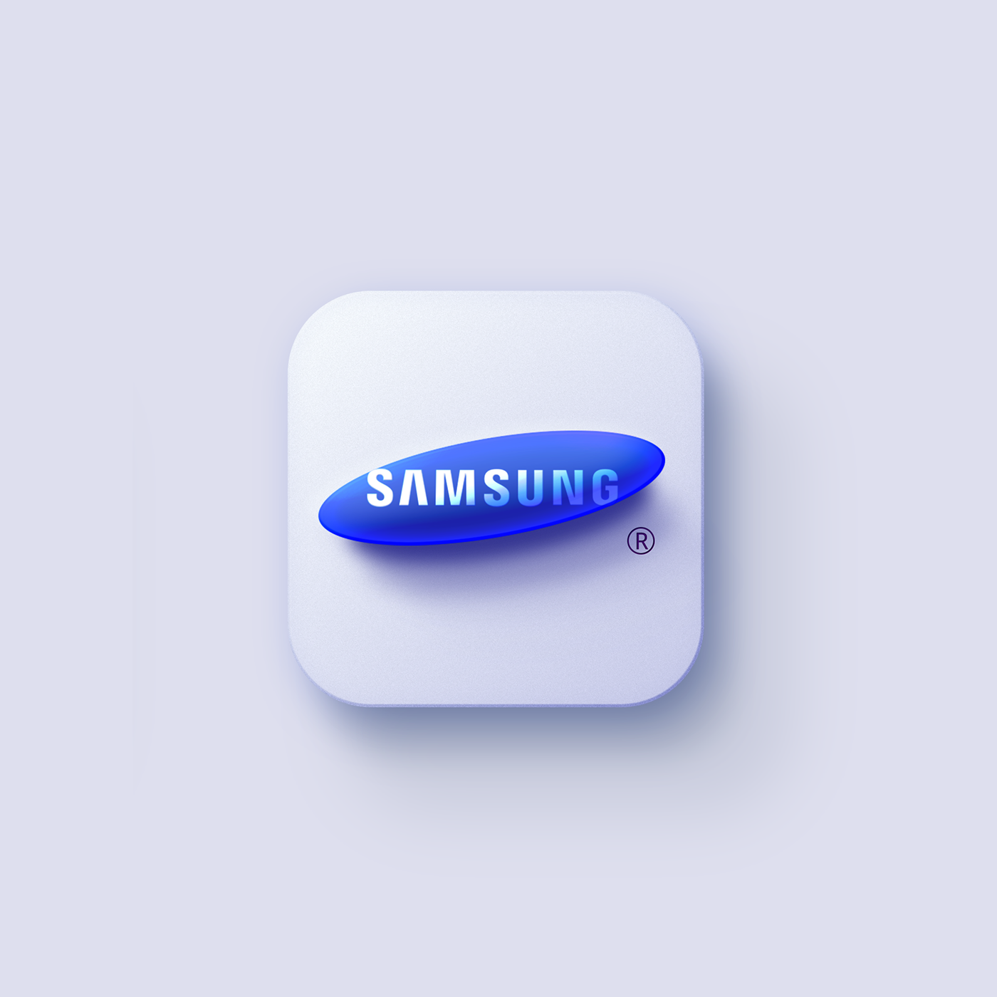 3D apple google Icon icon design  ios logo mac os skeuomorphism neumorphism