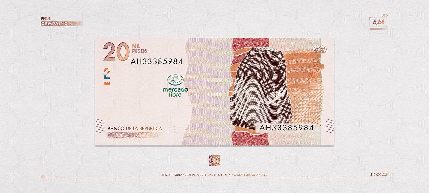 bill billete catalogo Catalogue colombia Mercadolibre