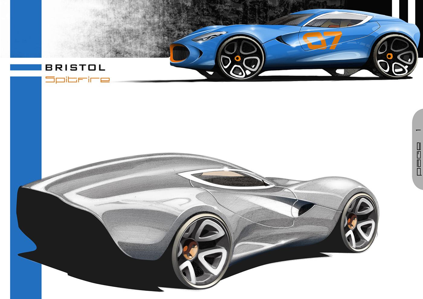 Automotive Design portfolio on Behance