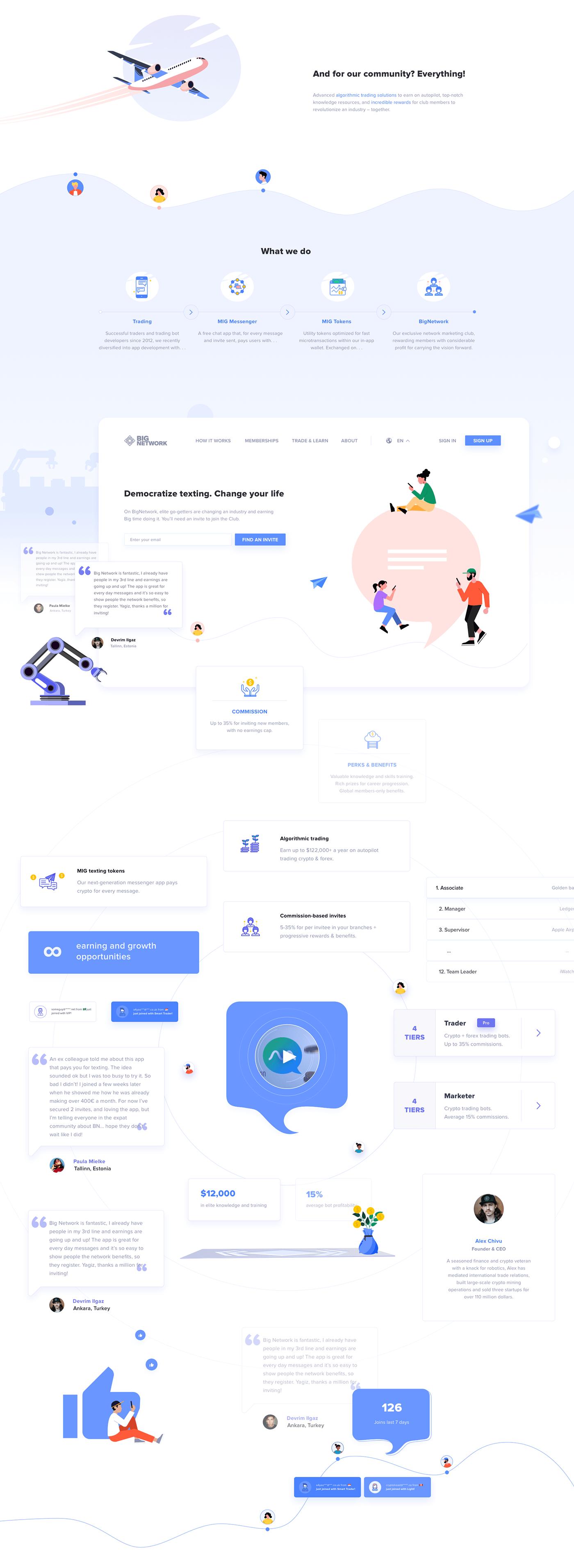 design ILLUSTRATION  mobile network UI ux