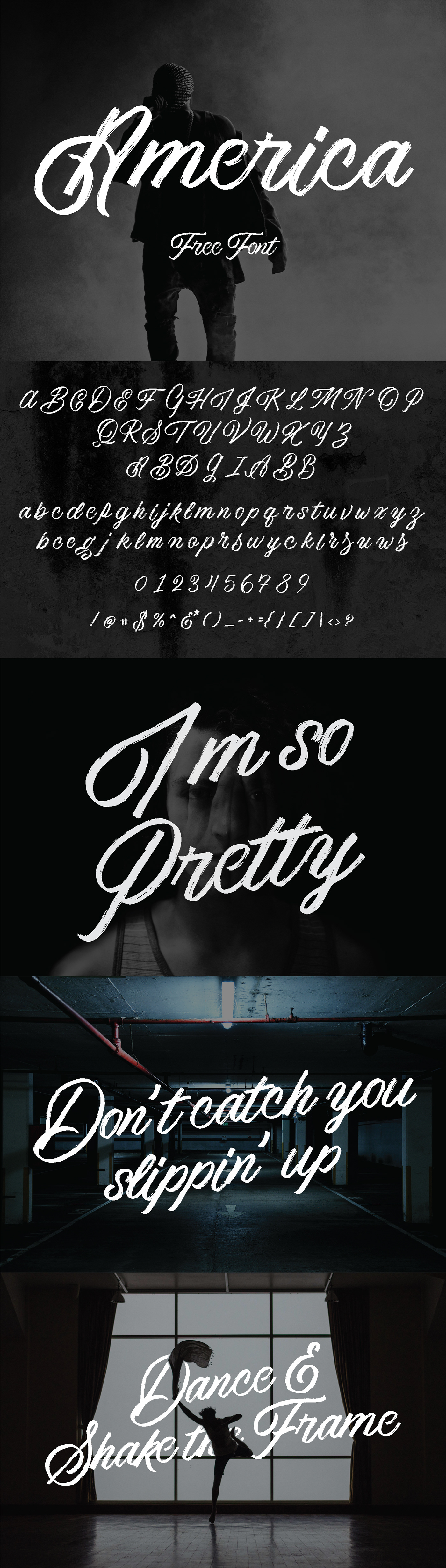 free Free font free fonts freebie Script texture hand drawn vintage commercial use brush