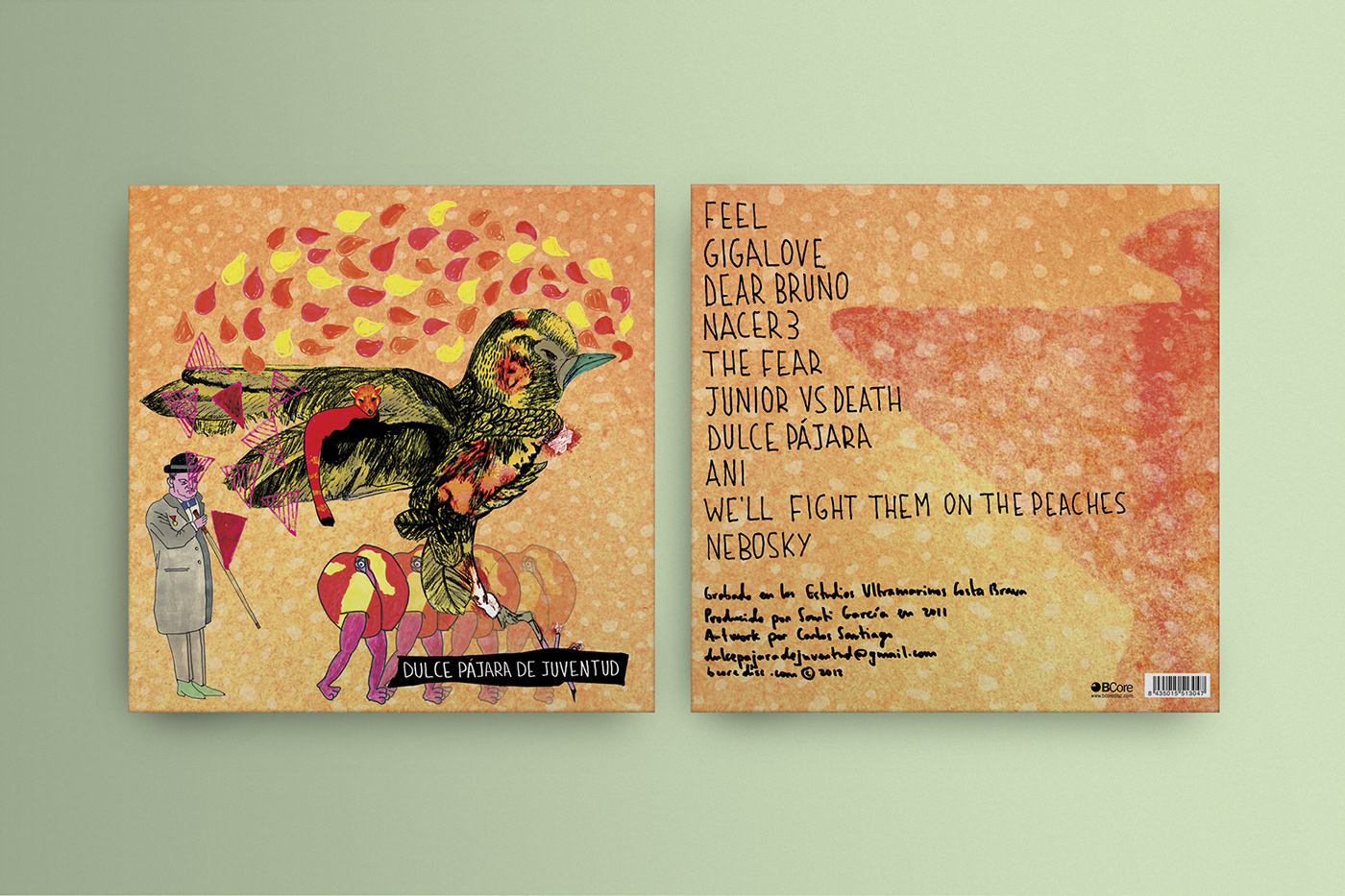 Cover Art ilustration lettering print
