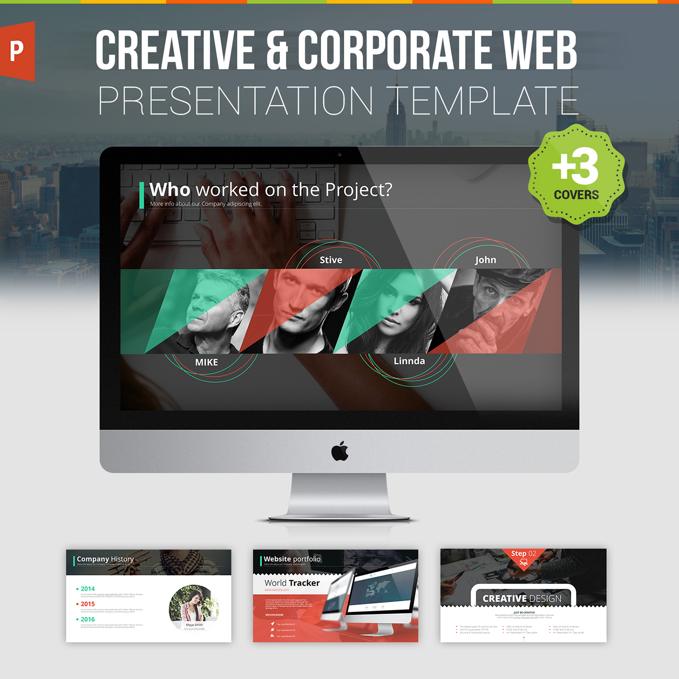 website design presentation template