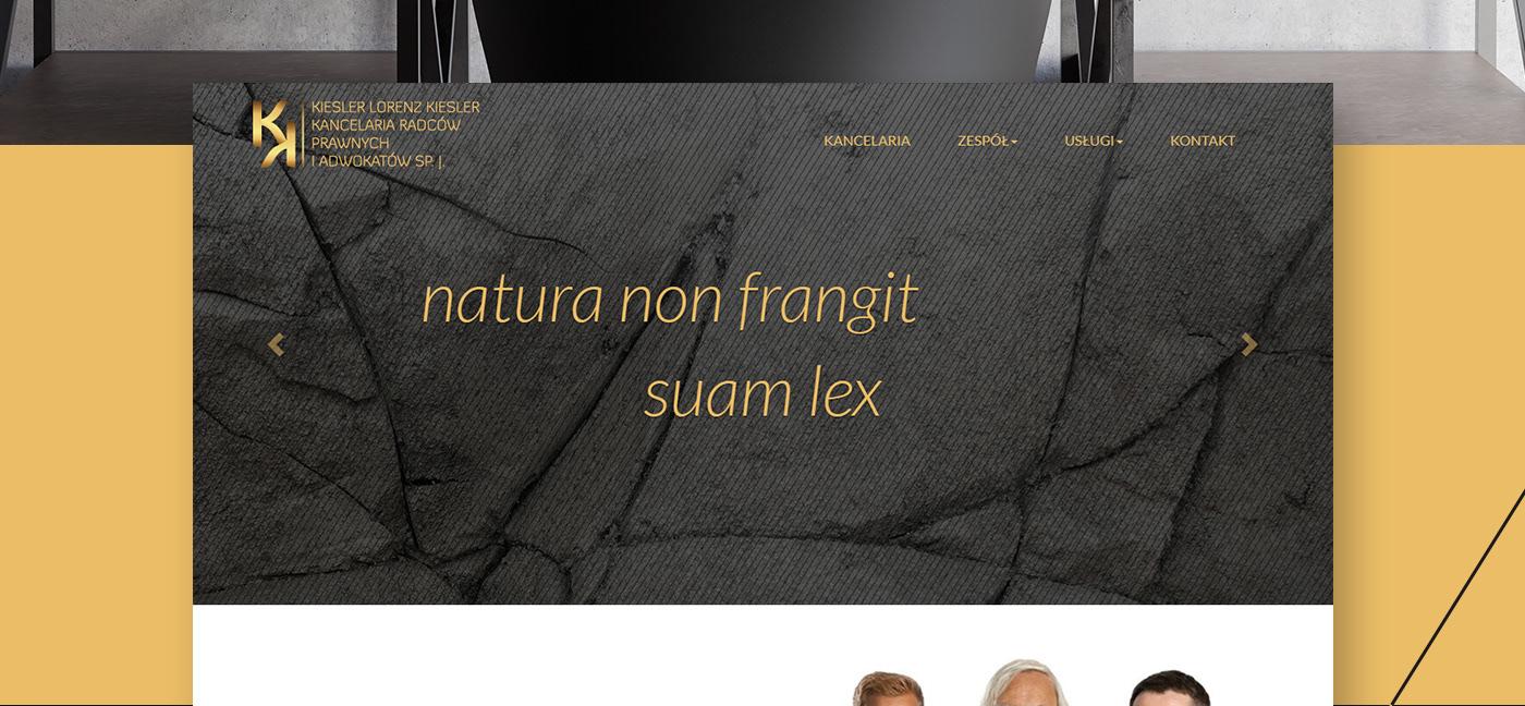 Web Design  gold law luxury apple
