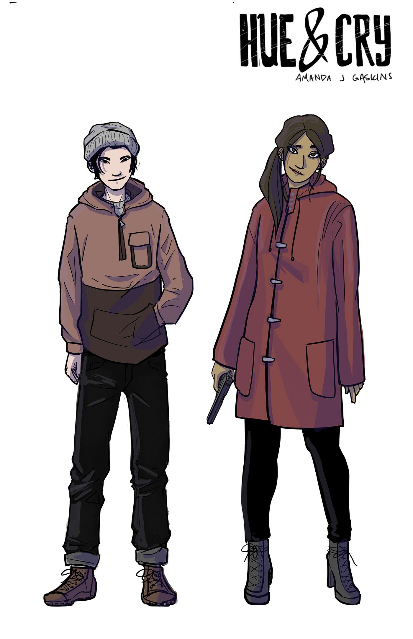 character designs comics