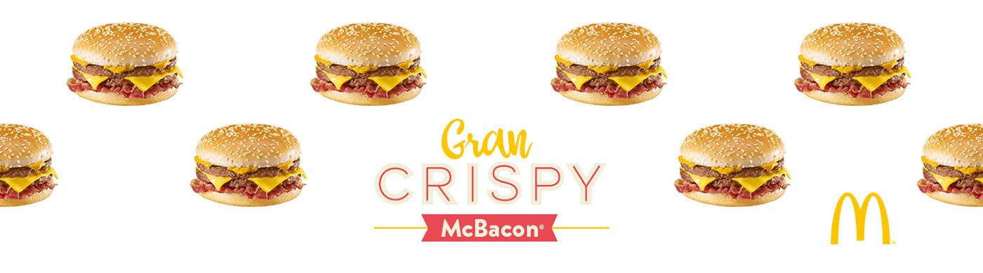 McDonalds gran crispy hamburger papa dad TvCommercial family