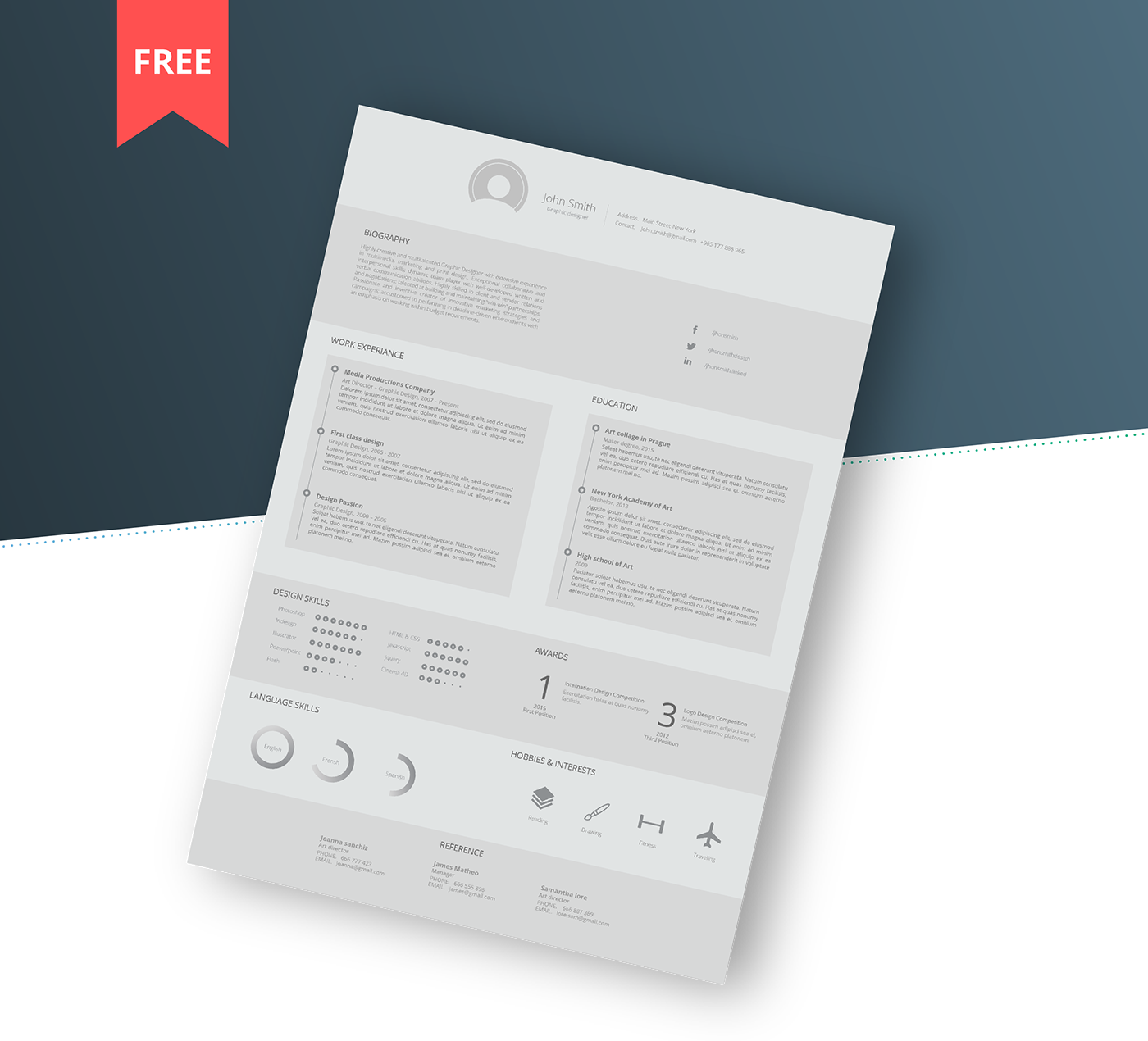 Resume Behance Resume Template free resume template on behance