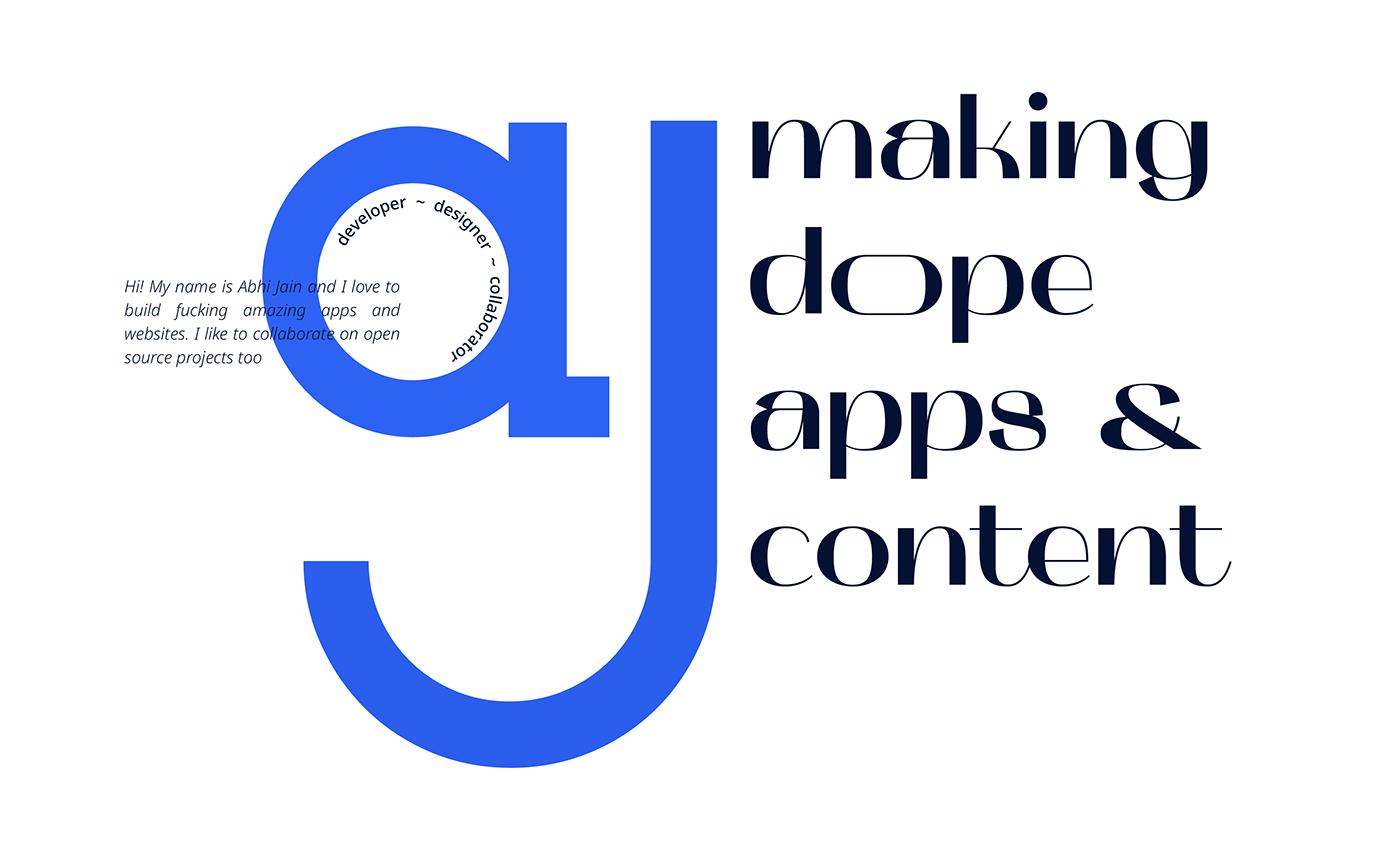 brand branding  clean developer graphic design  identity India logo logomark minimal