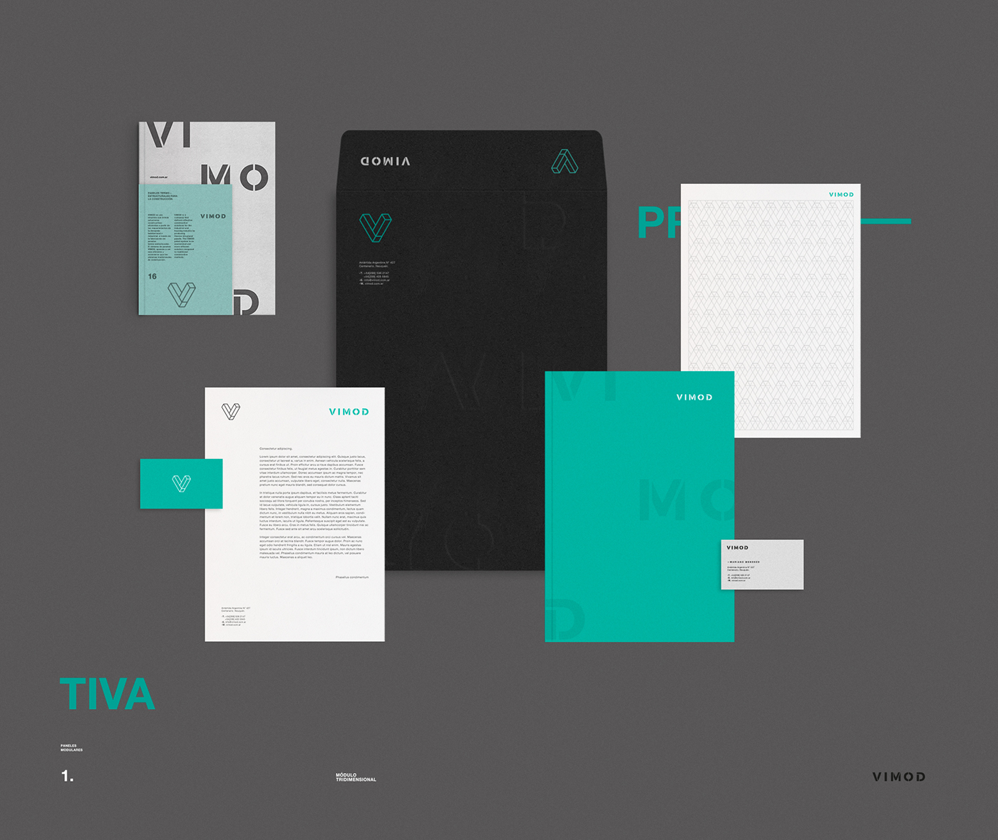 Awesome Brand Identity for VIMOD by Hachetresele