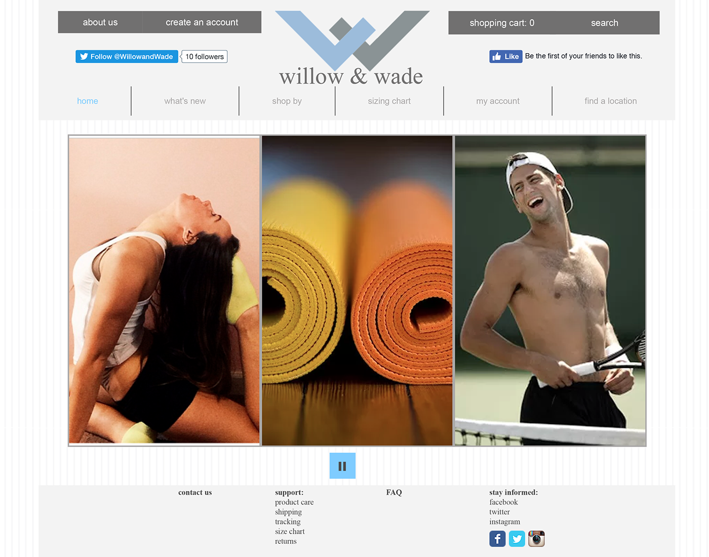 promo finance activewear logo branding  social media wireframe marketing plan Yoga Clothing