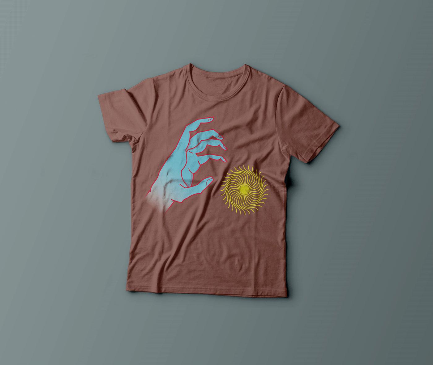 Image may contain: active shirt, wall and sleeve