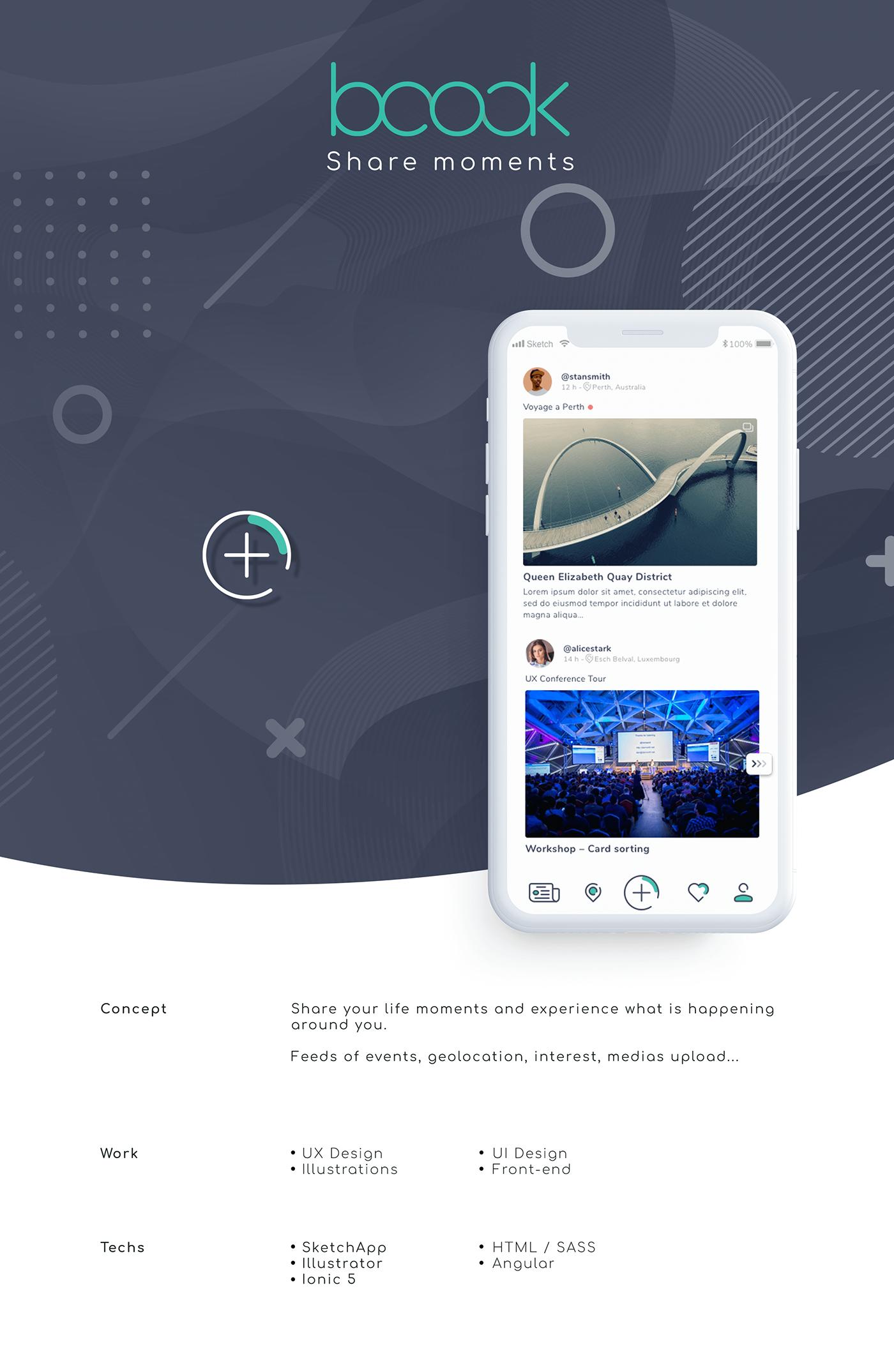 app mobile ui design UX design