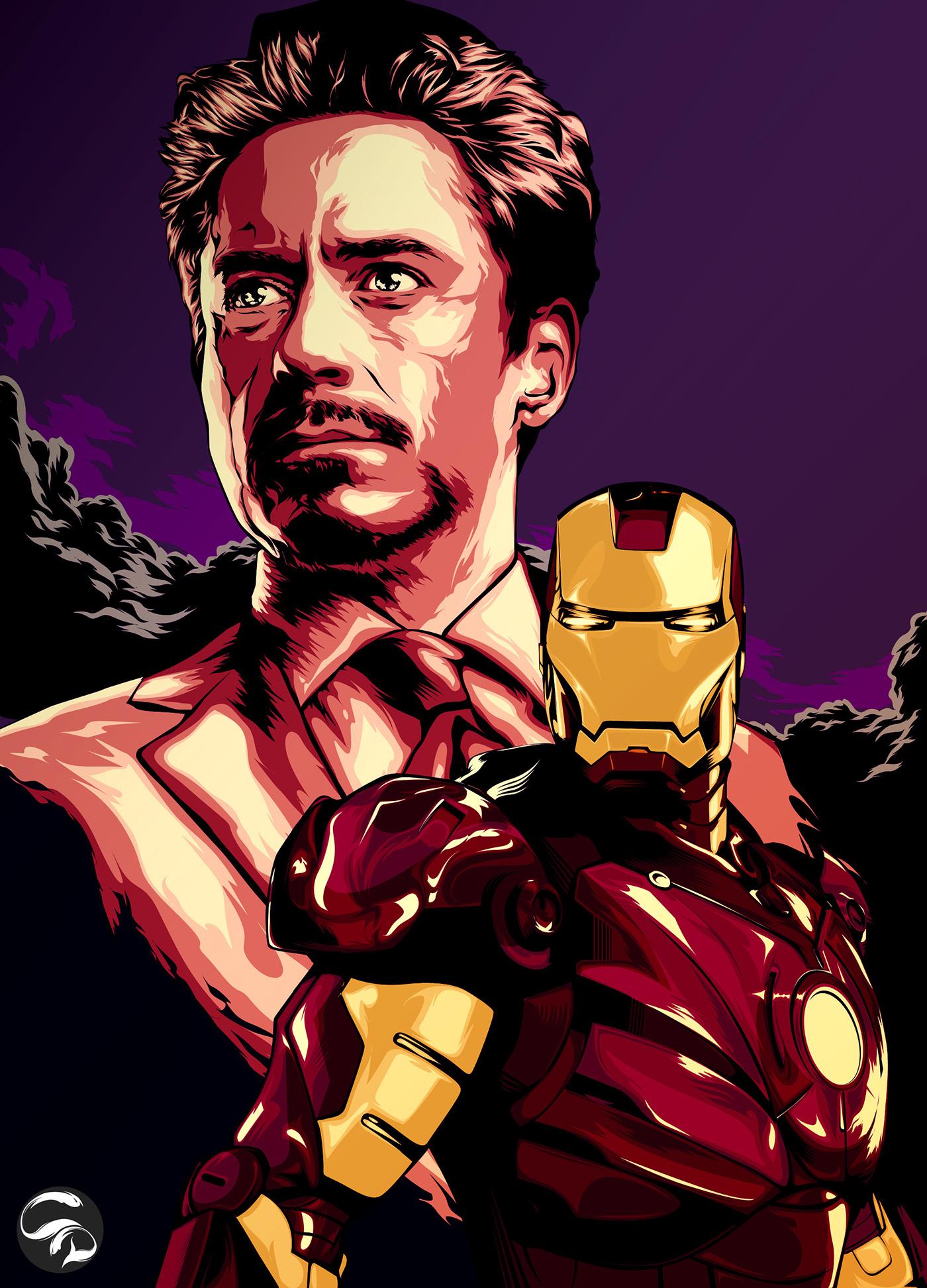 Tony Stark Is Ironman On Behance