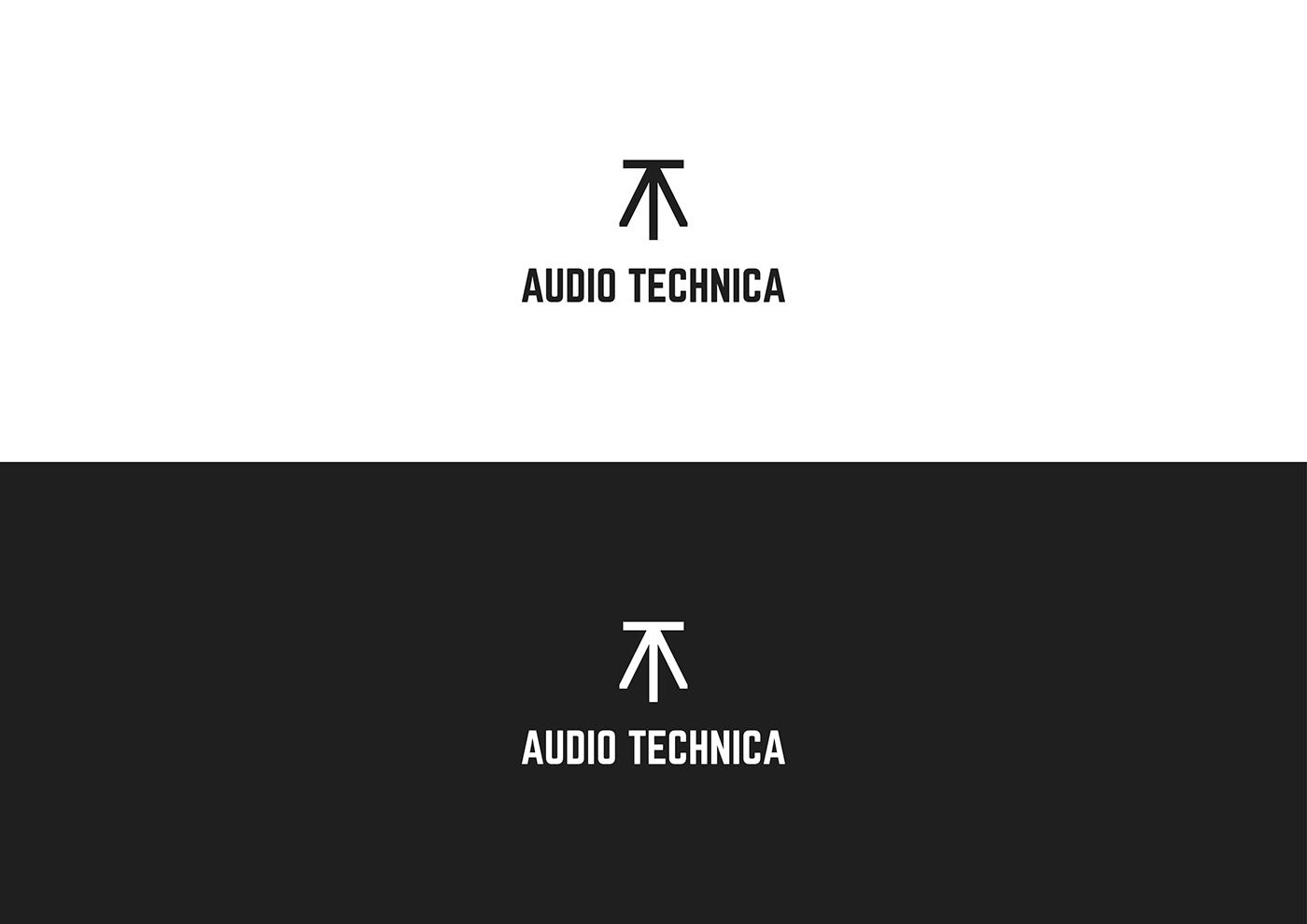 design bridge competition audio technica rebrand on behance