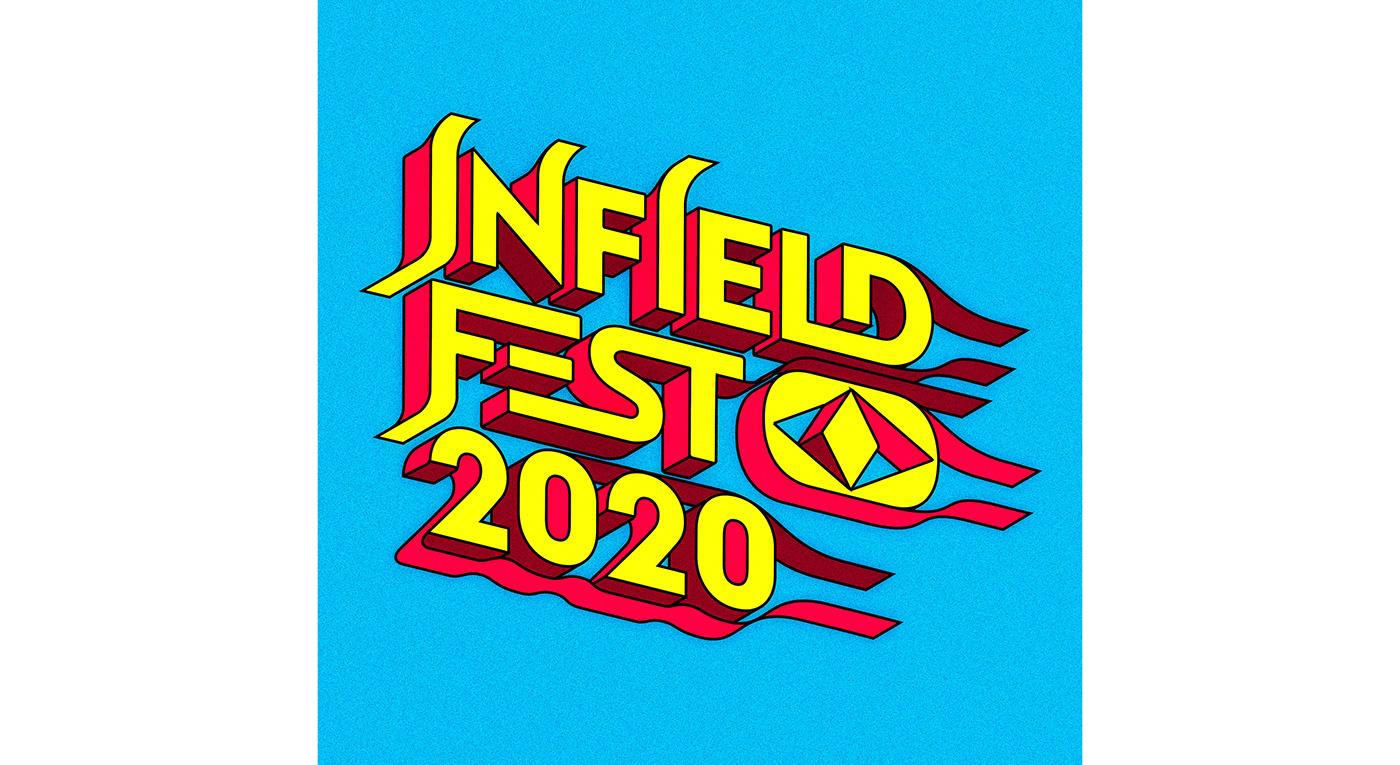 TYPOGRAPHIC IDENTITY FOR A MUSIC FESTIVAL IN THE UNITED STATES
