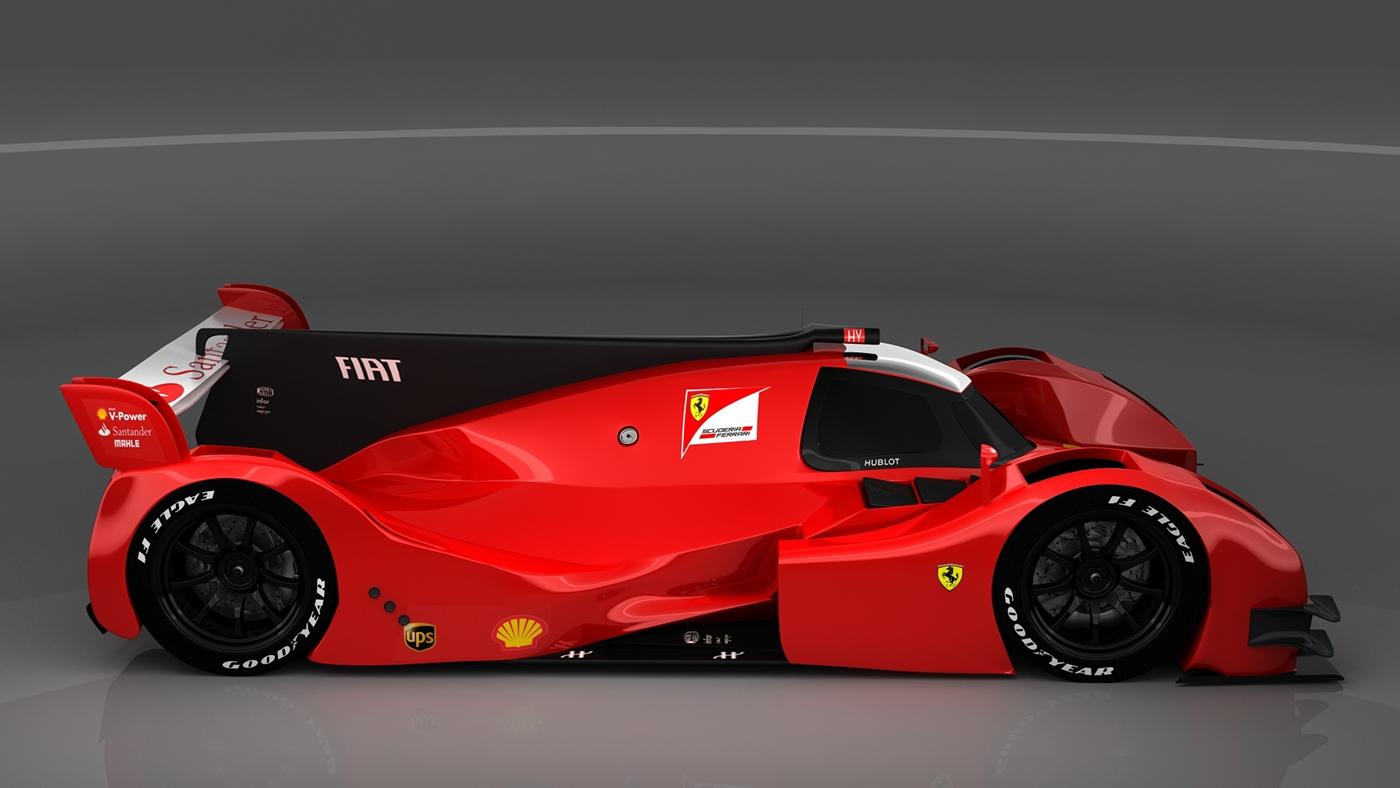 Ferrari F-330 LMP1 Concept on Behance