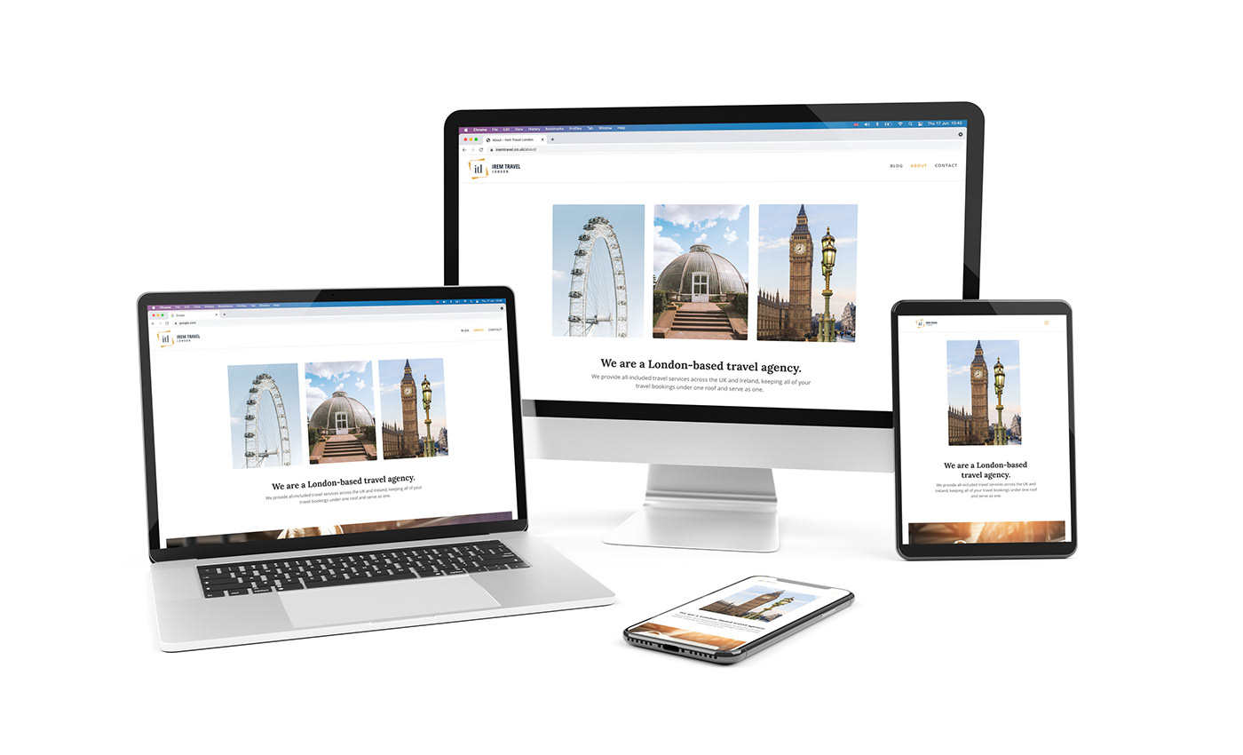 Travel Agency Website Travel company Web Design  wordpress
