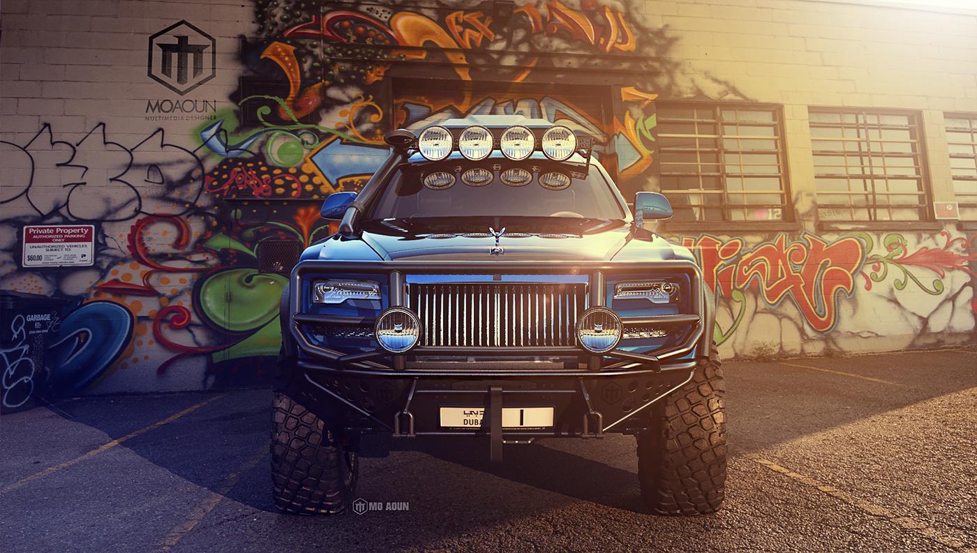 luxury 4x4 RollsRoyceGhost Series II 201 rolls royce Ghost Series RR mo aoun Offroad