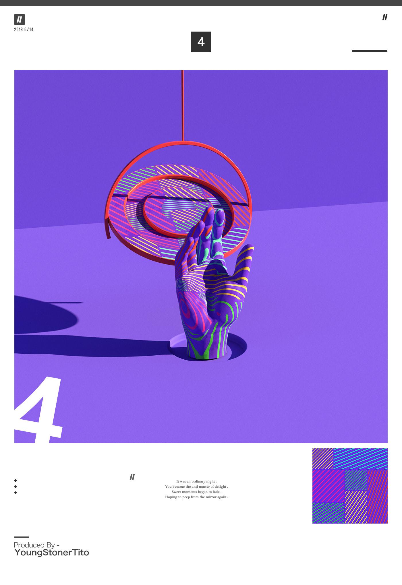 motion 3D c4d 3dart