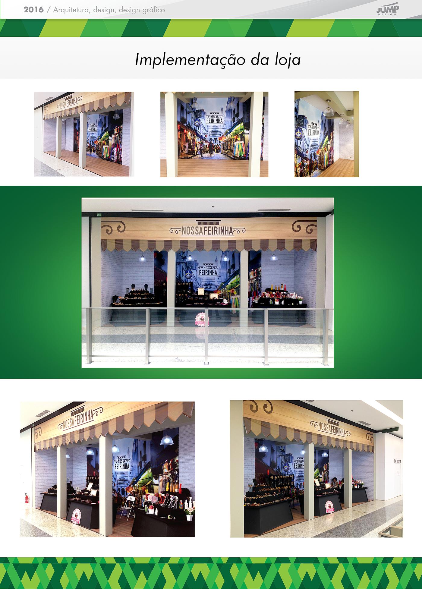 Shopping shop loja logo cenografia scenography brand