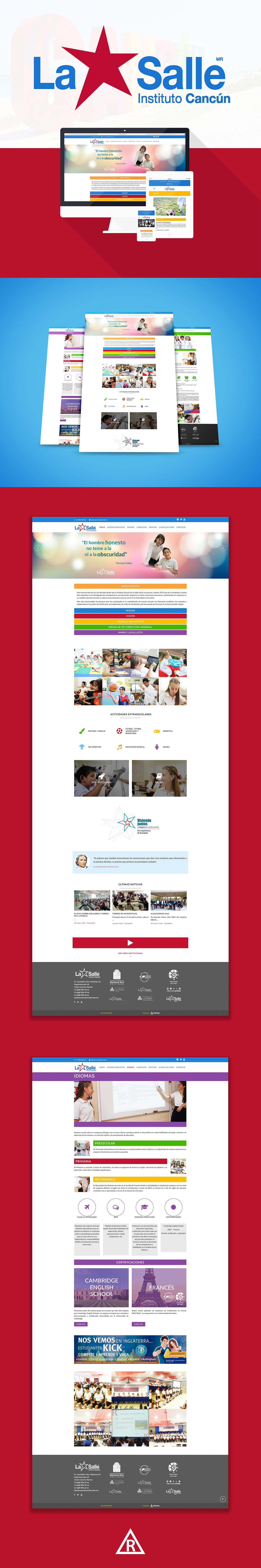 Instituto-cancun-lasalle-web-design