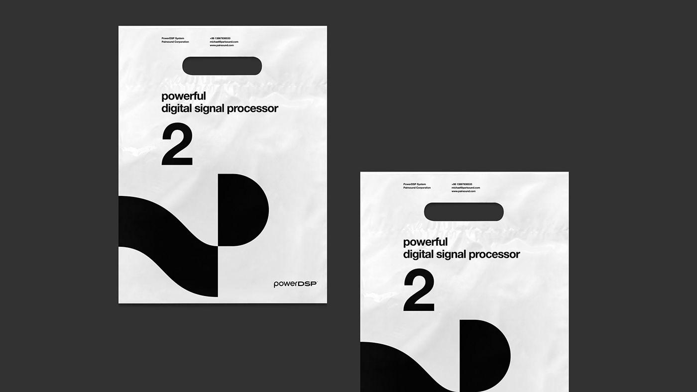 Audio Brand brand identity branding  Corporate Identity DSP Identity Design Logo Design music brand sound brand