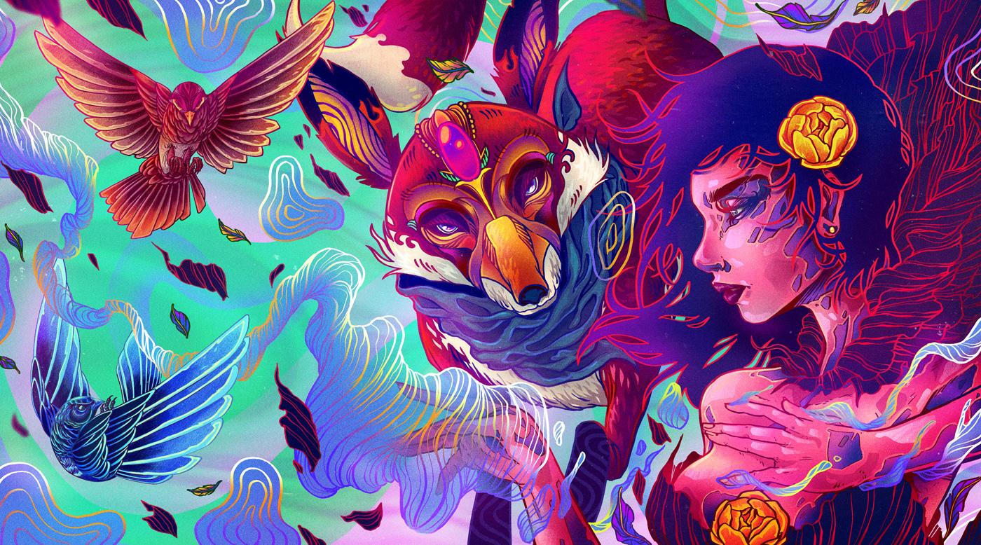 Magia. Magic / Spirit / Freedom by Charringo