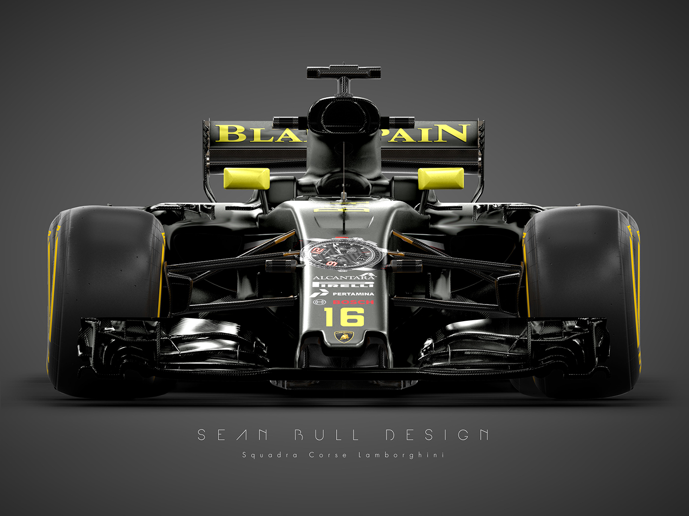 Lamborghini formula 1