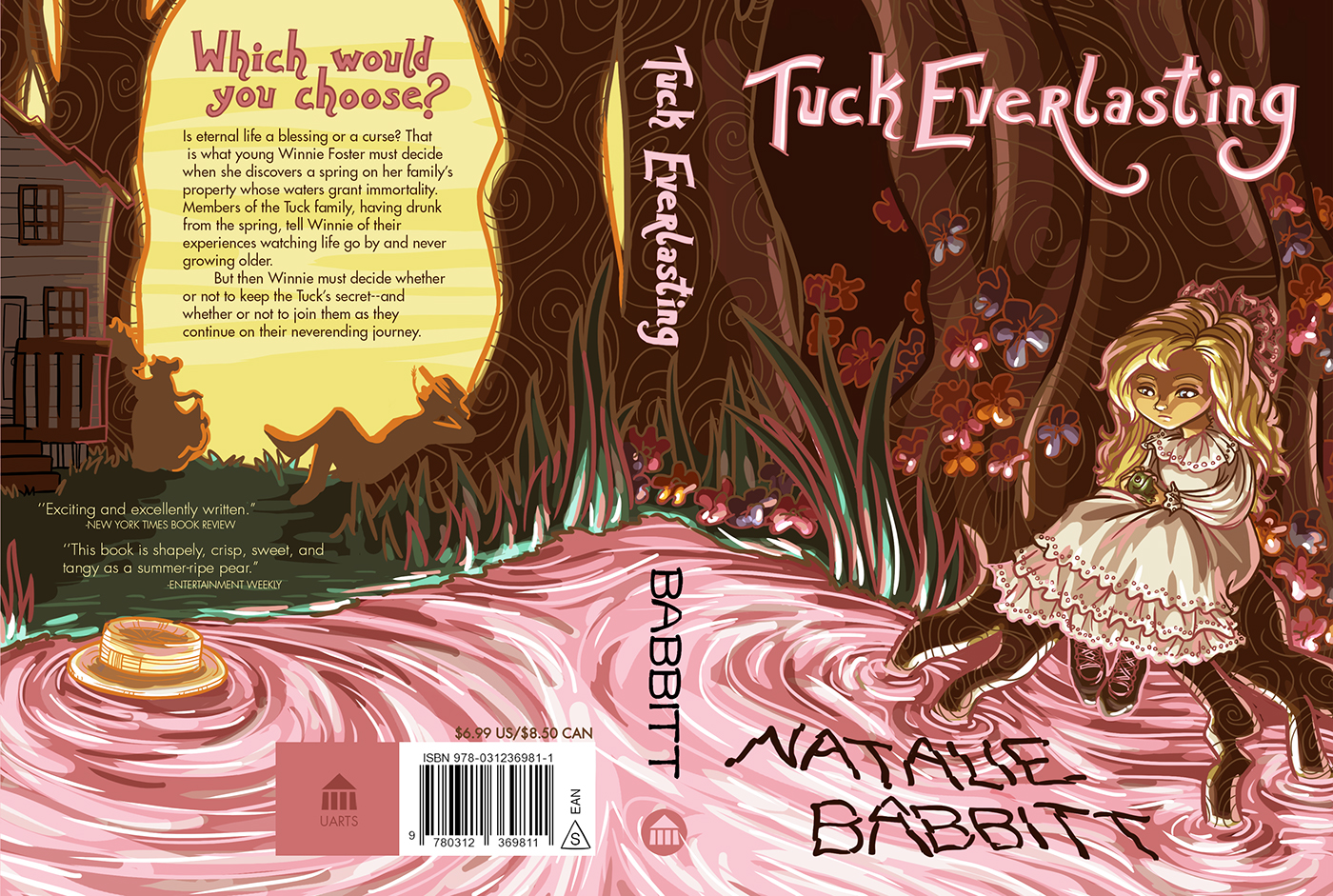 Tuck Everlasting Book Cover Pictures ~ Tuck everlasting on behance