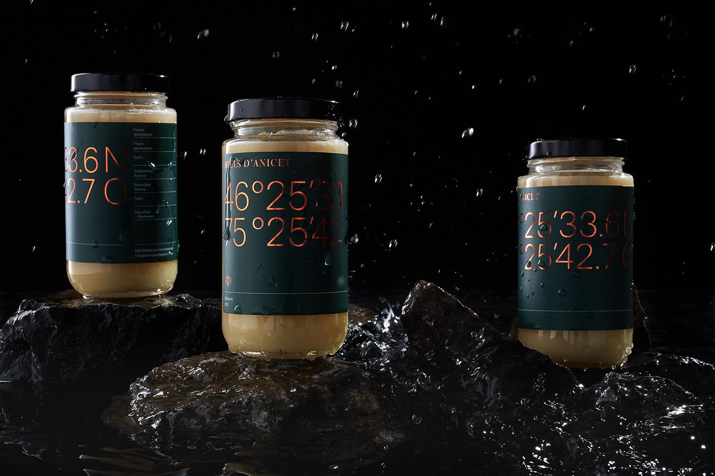 honey Packaging foil box rock