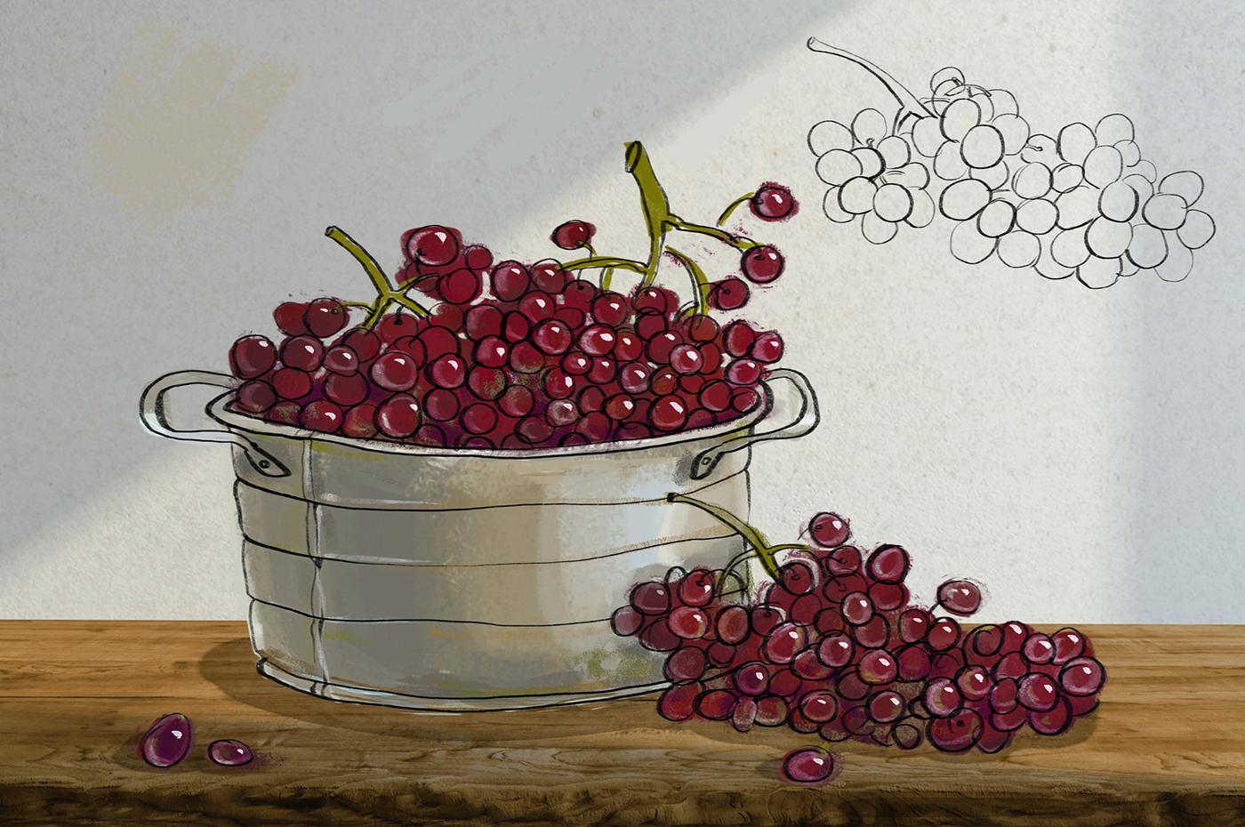 cinema 4d wine bottle stopper glass heart wood Pack bolimond blood grapes