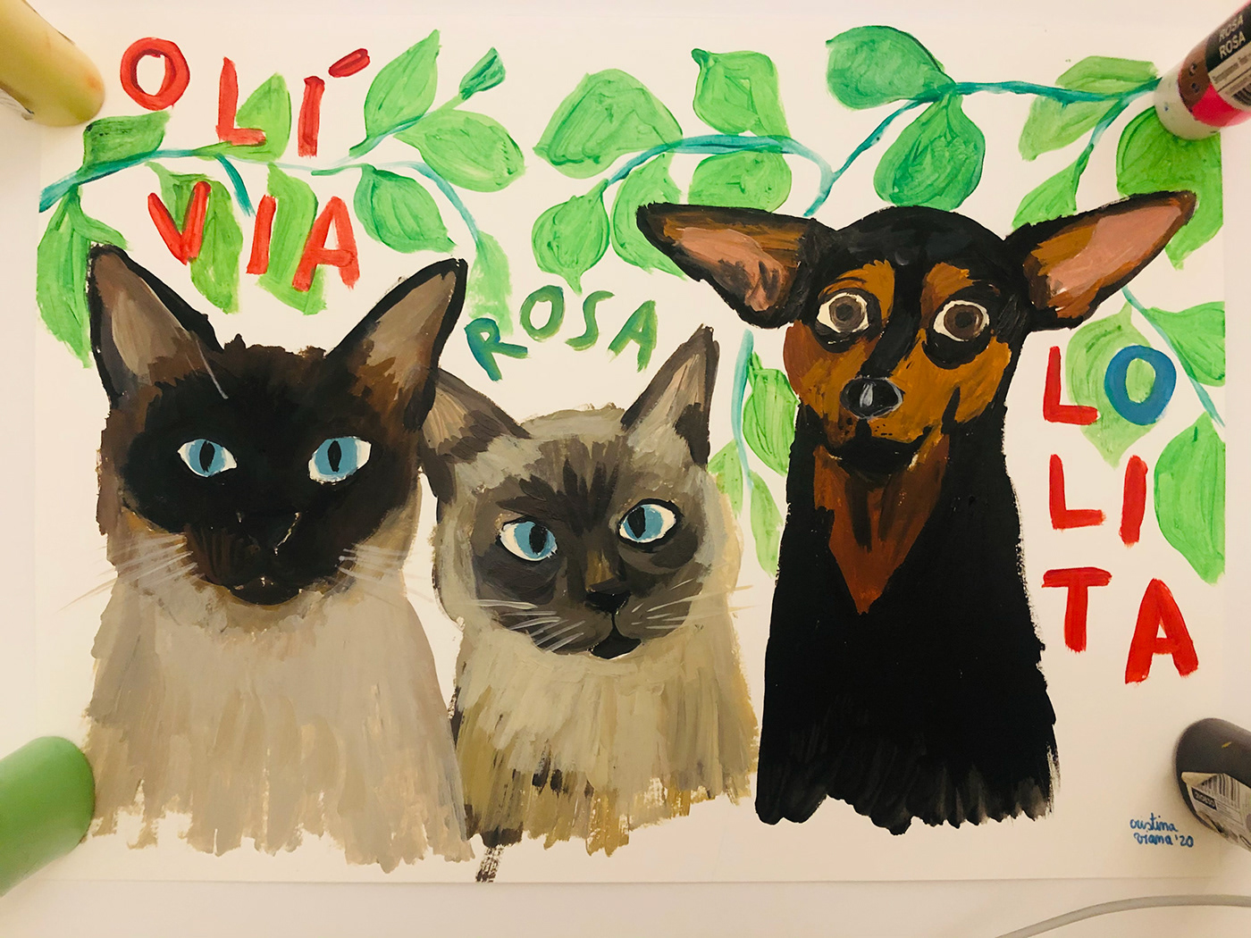 Image may contain: cat, illustration and animal