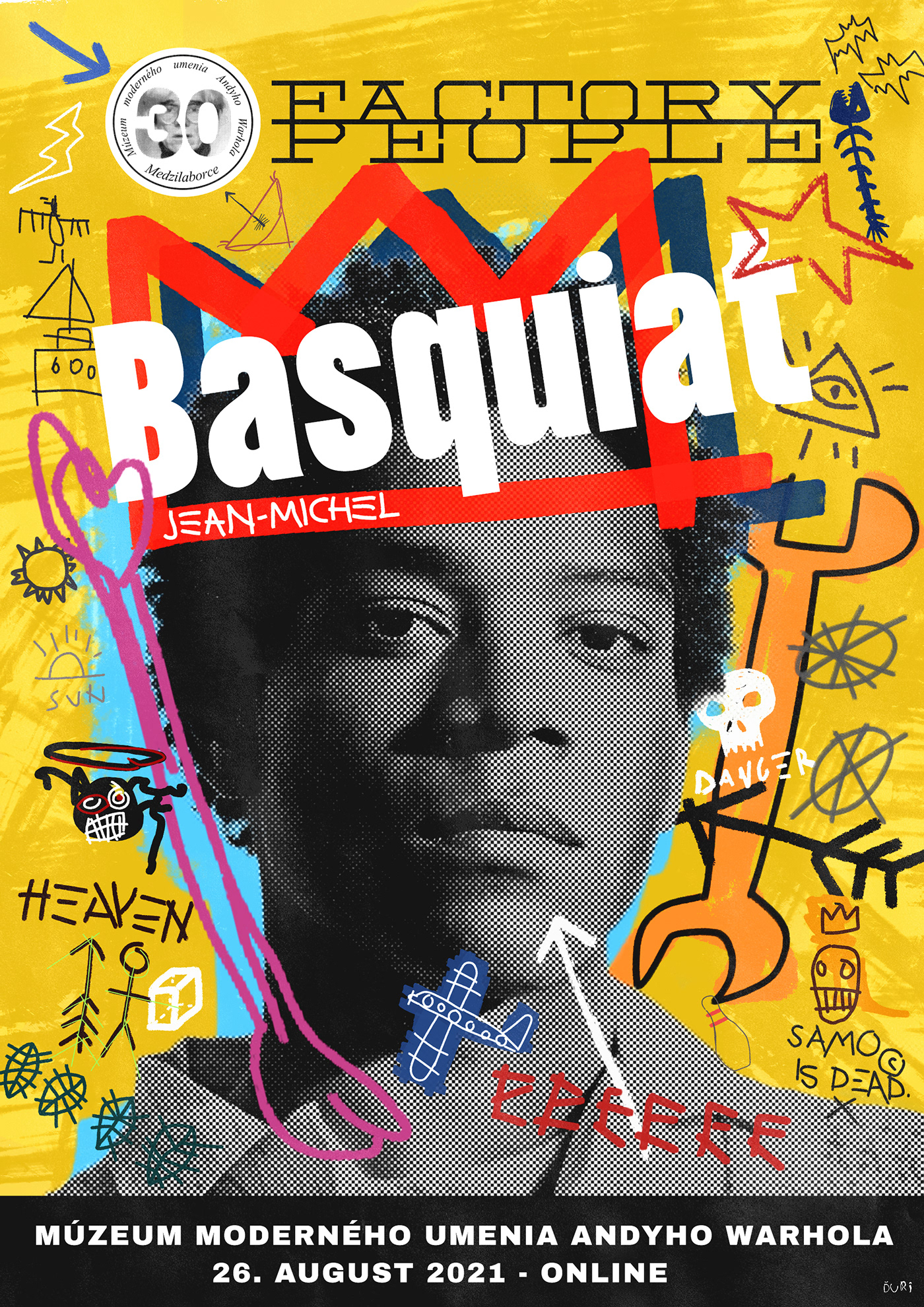 Andy Warhol andy warhol museum Basquiat design humenne museum of art popart poster print warhol
