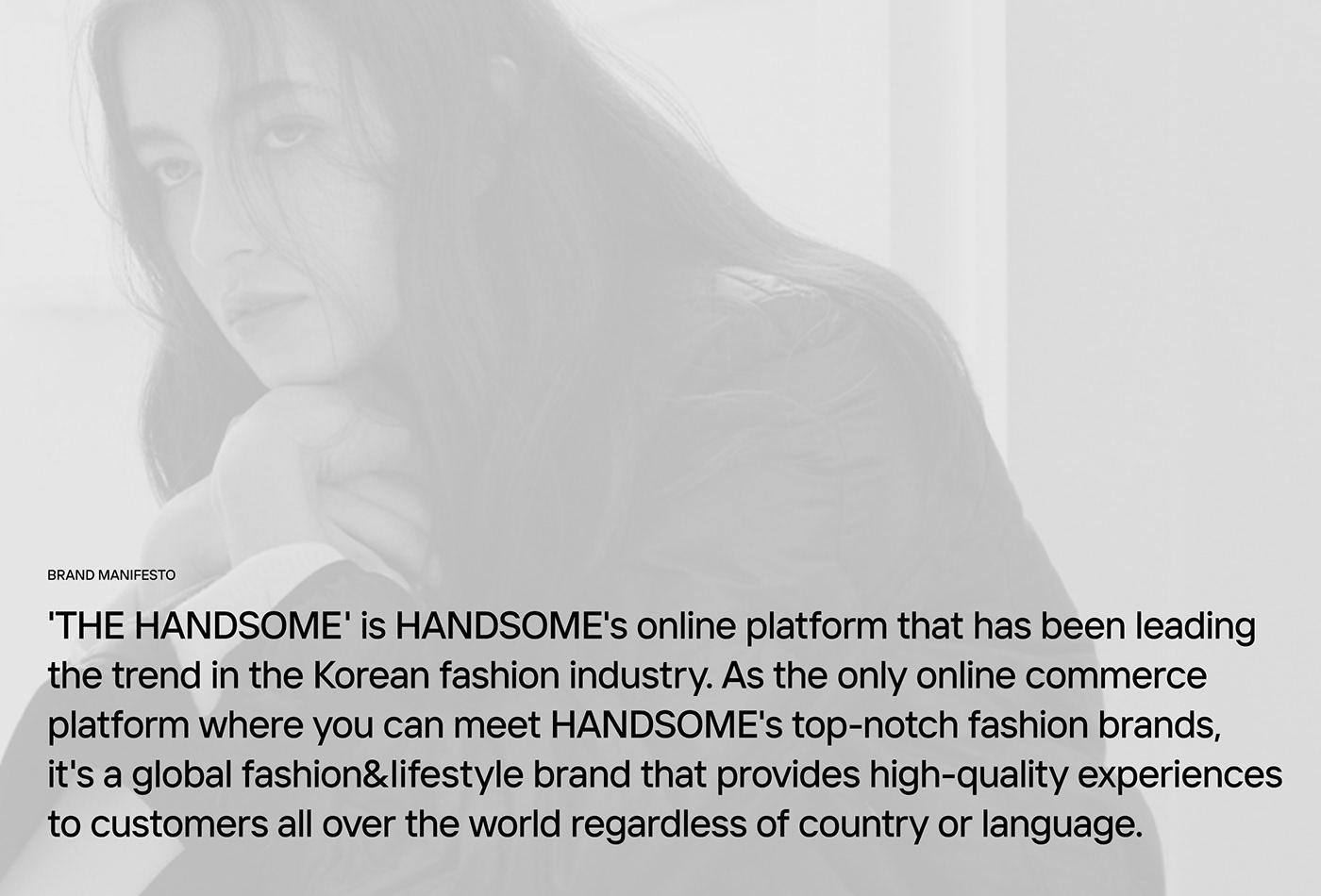 BI brand branding  bx Fashion  handsome huskyfox identity Logotype visual identity