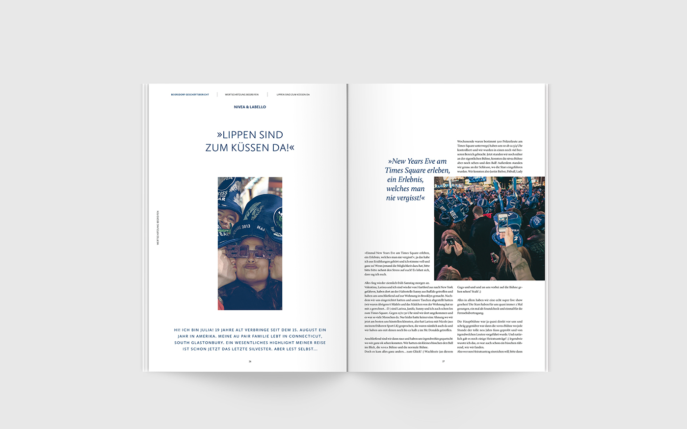Annual Report Design Case Study Pinterest