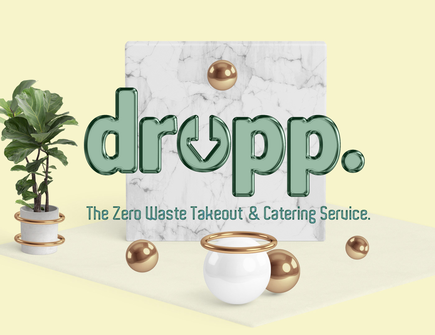 zero waste Sustainability food delivery delivery catering takeout
