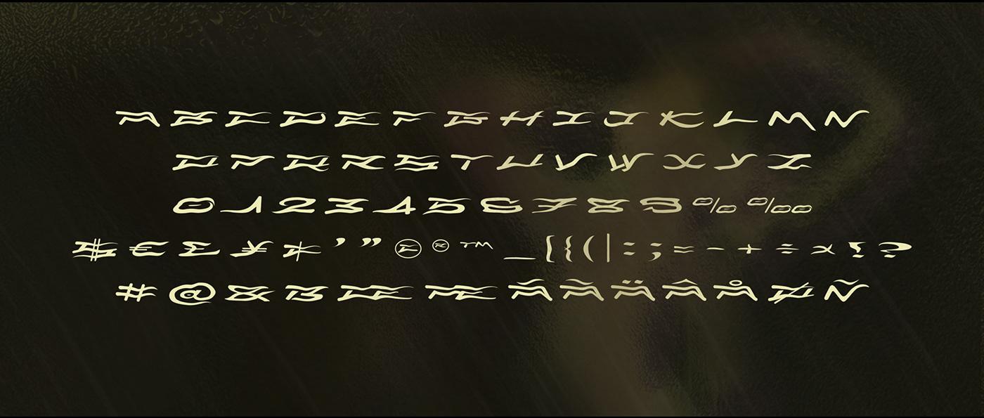 typo Typographie font cap graphisme decorative capitales large fantaisiste