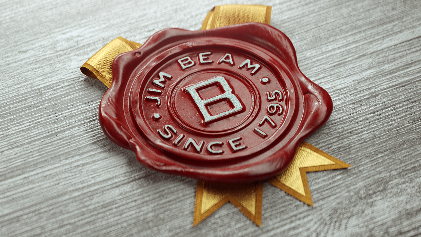 Jim Beam Wax Seal on Behance